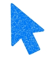 Mouse Pointer Grainy Texture Icon vector image