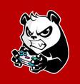 panda playing game
