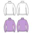 Roll-neck vector image vector image