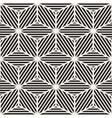 Seamless Stripes Cube Shape Lines Geometric vector image