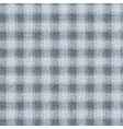 Seamless textured tartan Dark gray cells on a vector image vector image