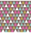 Abstract color pattern of geometric shapes vector image