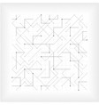 abstract gray line geometric triangle square vector image