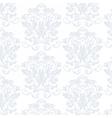 Elegant Vintage floral ornament pattern in blue vector image
