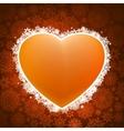 heart applique background eps 8 vector image vector image