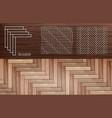 laminate herringbone vector image vector image