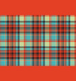 pop art color check plaid pixel seamless fabric vector image vector image