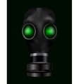 realistic gas mask vector image