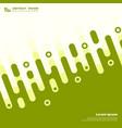 abstract geometric green wavy modern design vector image vector image