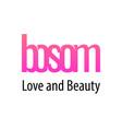bosom header for logo emblem or banner vector image