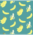 cute seamless pattern with banana print vector image vector image