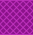 simple seamless pattern - square design background vector image vector image