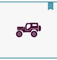 suv icon simple vector image