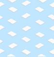 White books flat design seamless pattern