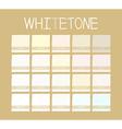 Whitetone Color Tone
