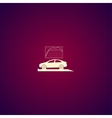 car service icon Flat design style vector image vector image