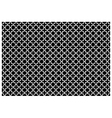 Cross pattern wallpaper vector image vector image