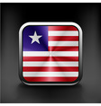Flag of Liberia Accurate dimensions vector image vector image