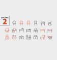furniture ui pixel perfect well-crafted vector image