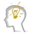 idea bulb vector image
