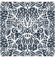 Lace cutwork vector image vector image