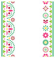 mexican happy greeting card or invitation vector image