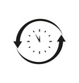 nonstop icons black vector image vector image