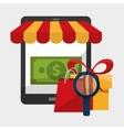Shopping sale design vector image