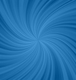 Blue twisted pattern background vector image vector image