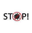 coronavirus 2019-ncov corona virus flat icon red vector image
