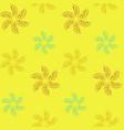 lemon lime pattern vector image
