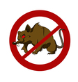 No big rat vector image vector image