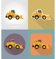 transport flat icons 26 vector image