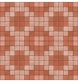 Seamless texture of stonewall tile vector image