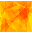 Abstract background triangle polygonal element vector image vector image