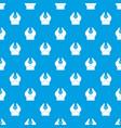 big bra pattern seamless blue vector image vector image