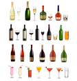 Bottles and glasses vector | Price: 3 Credits (USD $3)
