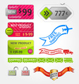 Collection of sale elements vector | Price: 1 Credit (USD $1)