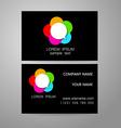 communication dialog speech bubble logo vector image