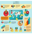 E-commerce Infographics Set vector image vector image