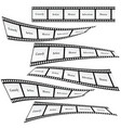 film tape set design art vector image vector image