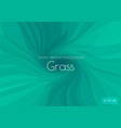 low poly green abstract background in form a vector image vector image