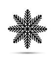 snow icon sign design vector image vector image