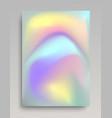 voumetric colorful foil paper vector image vector image