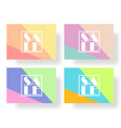 set of colorful banners flyers posters for sale vector image