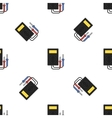 electricity flat icon pattern vector image vector image