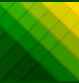 green and yellow poster with line vector image vector image