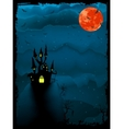halloween time vector image