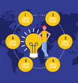 people business concept vector image