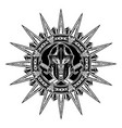 sparta star 0001 vector image